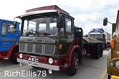 Add Watermark20190707093144 (richellis1978) Tags: truck lorry haulage transport logistics new hollies show old classic retro aec ergomatic marshall nfk246m