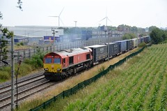 66185 aa Barby Nortoft 210718 D Wetherall (MrDeltic15) Tags: westcoastmainline dbcargo class66 66185 dirft wcml