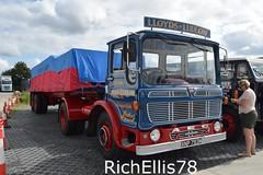 Add Watermark20190707093002 (richellis1978) Tags: truck lorry haulage transport logistics new hollies show old classic retro aec ergomatic mandator lloyds ludlow xnp793m