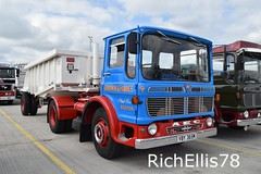 Add Watermark20190707093150 (richellis1978) Tags: show new old classic truck transport retro lorry logistics goodwin haulage aec hollies ergomatic tipper mercury forbes vby365m