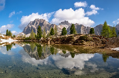 Alpine Mirror II (Achim Thomae Photography) Tags: italien alpen frühling dolomiten 2019 reflection landschaft trentino dolomitealps