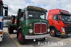 Add Watermark20190707093017 (richellis1978) Tags: truck lorry haulage transport logistics new hollies show old classic retro aec mercury rc cresswell jfl677
