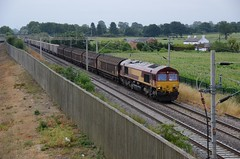66012 aa Barby Nortoft 210718 D Wetherall (MrDeltic15) Tags: westcoastmainline dbcargo class66 66012 dirft wcml