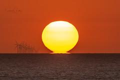 Mirage Sunset (Starman_1969) Tags: blackpool gynn mirage sunset turbines