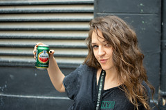 Girl 04 (dorieo21) Tags: streephotography retrato portrait girl woman women chica mujer fille femme nikon d7200 bière cerveza birra beer ragazza donna