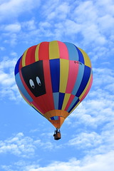 G-CCMN Cameron C-90 Concept (aledy66) Tags: gccmn cameron c90 concept ef70300mm northampton town festival racecourse hot air balloon gas bag canon eos 6d 6d2 markii mk2 mkii clouds sky blue colourful