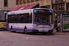 IMGP6006 SN13EFG 67865 Glasgow George Sq (fergusabraham) Tags: glasgow 67865 sn13efg firstbus enviro300 alexanderdennis firstglasgow georgesquare