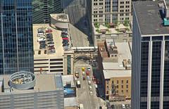 From Atop Willis Tower (craigsanders429) Tags: chicago chicagotransitauthority tallbuildings city cityscapes cityscenes streetscenes street citystreets urbanscenes urban publictransit