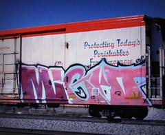 (timetomakethepasta) Tags: might icr freight train graffiti art cryo cryotrans cryx reefer samantha