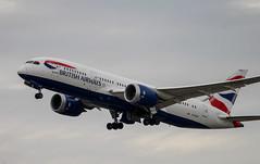 British Airways - Boeing 787-8 Dreamliner - London Heathrow (phil_king) Tags: aircraft aeroplane airliner aviation british airways boeing 787 dreamliner 7878 london heathrow airport lhr takeoff departing england uk