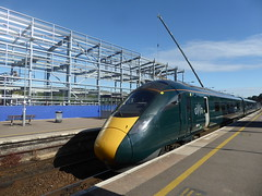 9 July 2019 Exeter (2) (togetherthroughlife) Tags: 2019 july devon exeter stdavids gwr train station 802101
