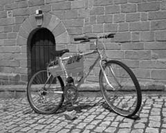 The bike (lebre.jaime) Tags: portugal beira monsanto bicycle bike analogic film120 kodak tmax100 tmx mf mediumformat bw blackwhite noiretblanc pb pretobranco epson v600 affinity affinityphoto