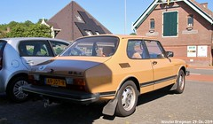 Saab 99 GL 1983 (XBXG) Tags: 69jdt9 saab 99 gl 1983 saab99 beige kanaaldijk koedijk alkmaar nederland holland netherlands paysbas vintage old classic swedish car auto automobile voiture ancienne suédoise sverige sweden zweden vehicle outdoor youngtimer