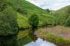 River Garnock slowly flows