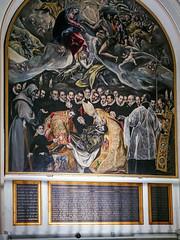 pintura Entierro del Conde de Orgaz El Greco Iglesia Santo Tome Toledo 01 (Rafael Gomez - http://micamara.es) Tags: pintura entierro del conde de orgaz el greco iglesia santo tome toledo