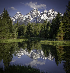 Schwabacher Landing (Simon R Barrett) Tags: schwabacherlanding grandtetonnationalpark thetetons tetons wyoming usa reflection