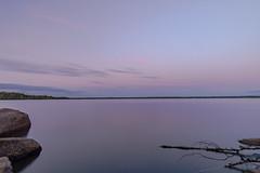 Flåren am Abend (Roy 50) Tags: nature landscape water outdoors sky lake reflection blue dusk tranquilscene beautyinnature summer rockobject cloudsky