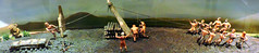 Diorama depicting raising Callanish standing stones (Will S.) Tags: mypics unitedkingdom standingstones lewis hebrides calanais callanish scotland diorama figures