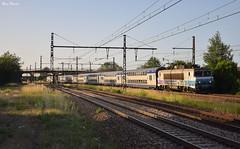 V2n pour Laroche (Marc_135) Tags: bb7200 bb7200r bb7291 envoyage v2n 2étages etig etigny plm paris laroche soleil bleu train rail ter terbourgogne