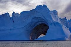 what a place -iceberg in disko bay (Reinhard.Pantke) Tags: greenland grönland reise