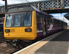 Northern Class 142 (142068) - Doncaster (saulokanerailwayphotography) Tags: northern pacer class142 142068