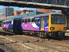 Northern Class 144 (144011) - Doncaster (saulokanerailwayphotography) Tags: northern class144 pacer 144011