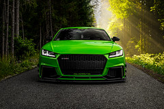 Toxic (Markus Holzer) Tags: audi audiquattro audisport tt ttrs vag green bagged stance airride airlift car carphotography carporn automotivephotography automotive forest