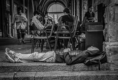 s952 (LiMax - Alessandro Li Mandri) Tags: limaxphotographer blackandwhite bnw poorpeople portici porticidibologna street bologna bolognacentro homeless povery pollution
