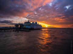 Mukilteo Ferry Sunset Skies (www.mikereidphotography.com) Tags: ferry sunset washington fuji gfx50s