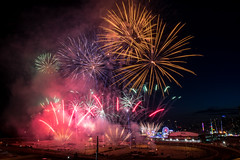 Calgary Stampede Fireworks (Christy Turner Photography) Tags: festival lights fireworks rodeo explosives calgarystampede fireworkshow