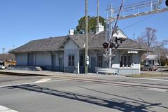 DSC_0161 (Andy961) Tags: mineral virginia va railway railroad train station depot wooden co chesapeakeohio bb buckinghambranch nrhp