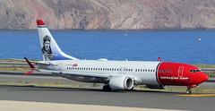SE-RTA (GSairpics) Tags: serta boeing boeing737 boeing737max8 max8 aircraft airplane aeroplane aviation transport travel jet jetliner airline airliner norwegian norwegianairsweden airport lpa gclp laspalmasairport grancanaria canaryislands charleslindbergh norwegiancom