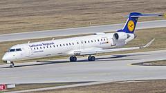 "Lufthansa Bombardier CRJ-900 D-ACKB ""Wittlich"" Munich (MUC/EDDM) (Aiel) Tags: lufthansa lufthansacityline bombardier crj crj900 crj900lr dackd wittlich munich canon60d sigma60600"