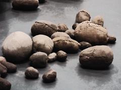 Sackcloth (Steve Taylor (Photography)) Tags: embryology magdalenaabakanowicz tatemodern sacks bags art sculpture brown grey uk gb england greatbritain unitedkingdom london texture bag digitalart cloth shadow