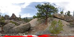 Lumpy Ridge (Drunkphotography.com) Tags: mountains colorado denver usa hiking climbing rockymountains rockymountainnationalpark nationalpark lumpyridgetrailhead lumpyridge trails trailhead photohike 360 360degrees 360panorama insta360 travel nature trees horizon