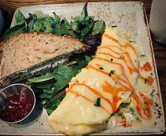 Summer Crab Omelette (LarryJay99 ) Tags: eatery firstwatch food yummies tabletops