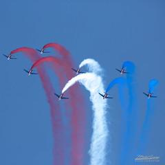 Meeting de France 1B3A2070-Modifier-1 (mg photographe) Tags: bleu blanc rouge alphabet patrouille france dijon bourgogne ba102 meeting aérien formation avion jet voltige