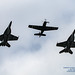 LOOKING UP AT THREE HEAVY HITTERS OF US NAVAL AVIATION