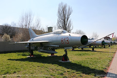 MiG-21 F-13 (srkirad) Tags: airplane aircraft jet military mig mig21 f13 aviationmuseum aviation museum migalley sunny travel szolnok hungary hungarian russian outside exhibition