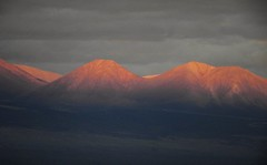 Last Light of Sunset, on the Andes Mountains (Ruby 2417) Tags: sunset alpenglow mountains andes atacama chile