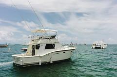 Fishing among locals (Taomeister) Tags: nikoncoolpixa bavaropuntacana dominicanrepublic