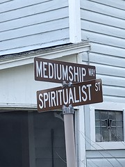 Intersection of Mediumship Way and Spiritualist Street