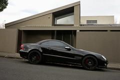 Mercedes SL500 - study in black and brown (Joe Lewit) Tags: sports car variosonnart281635 mercedessl500