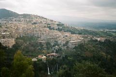 Tivoli (szmenazsófi) Tags: smenasymbol lomo smena analog analogue film 35mm outdoor nature town hill hills tivoli itali italia green spring hike hiking montecatillo