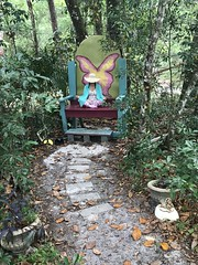 Chillin' on the Fairy Trail, Cassadaga, Florida