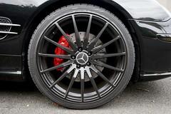 Mercedes SL500 wheel (Joe Lewit) Tags: sports car variosonnart281635 mercedessl500