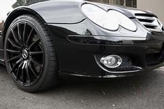 Mercedes SL500 front quarter (Joe Lewit) Tags: sports car variosonnart281635 mercedessl500