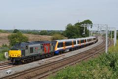 37611 04-07-19 (IanL2) Tags: railoperationsgroup rog class37 37611 pegasus wellingborough northamptonshire englishelectric 710117 tfl mml