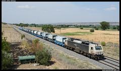 TECO en Ciempozuelos (javier-lopez) Tags: ffcc railway train tren trenes adif renfe mercancías teco contenedor contenedores 333 3333 prima lgnss mc mc3 teqsa transportesespecialesyquímicos butadieno torrelavega vicálvaromercancías puertollanorefinería ciempozuelos 04072019