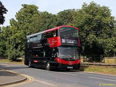 BF67GOE Transdev Harrogate & District 3641 (theroumynante) Tags: transdev harrogate district 3641 volvo b5tl wrightbus eclipse gemini 3 ripley north yorkshire bus buses road transport doubledeck lowfloor route36 36 bf67goe